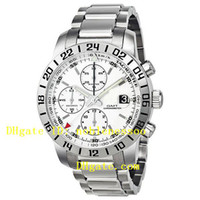 Wholesale AAA Top quality Men s Miglia GMT Watches Sapphire Crystal White Dial Wristwatch Sport Movement Automatic Mens Watch
