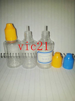 Wholesale pieces ml PET clear eyedrop bottle dropper bottle childproof bottle FEDEX