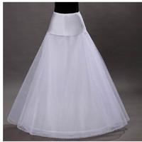 al por mayor a-line bridal dress-venta caliente 2015 barato una línea blanca de boda enaguas libre del tamaño del resbalón nupcial de las enaguas de la crinolina de blanco para los vestidos de boda