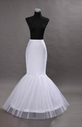 Wholesale 2014 Mermaid Petticoat slip Hoop Bone Elastic Wedding Dress Crinoline Trumpet