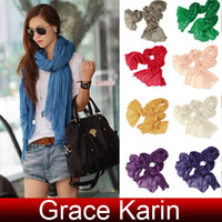Wholesale Hot Selling GK Lady Girls Women Bohemian Vintage scarf Shawl Neck Wrap CL5087