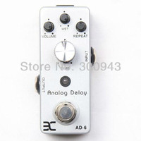 AD-6 Analog Delay Guangdong, China (Mainland) Effects Wholesale - EX Micro Pedal AD-6 Analog DelayMetal case mini pedal mooer style newest pedal