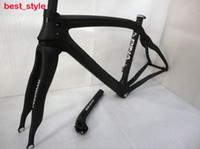 Wholesale 2014 Fashion Full Carbon Fiber Road Bike Frames Pinarello Dogma Think2 Bike Frames Clear Coating K Weave Black Bicycle Parts CRF03