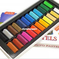Wholesale set colors set Chalk Hair Color Temporary Hair Chalk Fun Fast Easy Soft Fencai Bar FREE ship