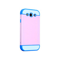 For Samsung Plastic For Christmas Plastic TPU COMBO case cover for Samsung Galaxy S3 I9300 cell phone mobile phone cases with credit card slot