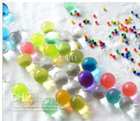 Wholesale Photobeads Pastel D Crystal Soil cloudy beads MIX Color retail packing for plant