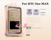 For HTC Leather  Original KALAIDENG KA Series thin Touch Screen S View Flip Cover Leather Case Cover For HTC One Max T6,With Retail Package