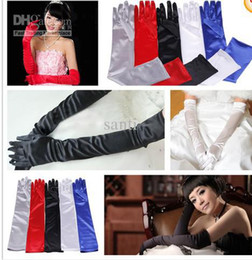Wholesale 22 Satin Wedding Bridal Opera Arm Fomal Ladies Lingerie Evening