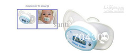 Wholesale New Pacifier Babies Stocking Stuffer Cherub Baby Pacifier Shaped Electronic Digital Thermometer