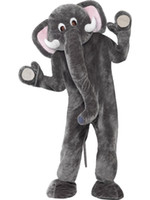 adult circus costumes - Brand New Custom made Elephant Adult Elephant Fancy Dress Mascot Costume Circus