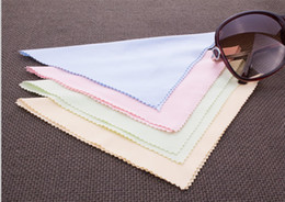 Wholesale HOT New arrival Microfiber Cleaning Cloth for Glasses Spectacle Camera Lens Screen
