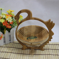 Wholesale Foldable Bamboo Basket