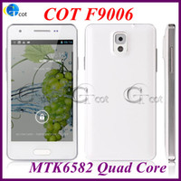 No Brand 4.3 Android MINI Note 3 N9000 Quad Core android cell phone MTK6582 1.3GHz 4.3Inch SmartPhone 1GB 4GB 8.0MP Camera Android 4.2 os 3G free case F9006