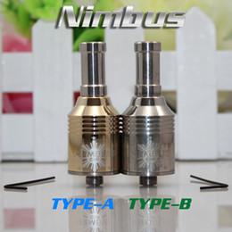 Wholesale Nimbus Atomizer Huge Vapor Clearomizer Forge Rebuildable Kayfun Atomizer trident atomizer electronic cigarette mods