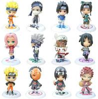 Wholesale Cute Anime Naruto figure toys Akatsuki Member figure set