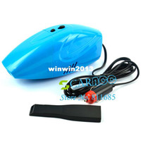 Wholesale New Mini Powerful Portable Car Vacuum Cleaner Car Dust Collector Cleaning DC V color Blue C