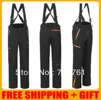 Wholesale Brand Men s waterproof keep warm fleece pants winter outdoor sports skiing camping Full Length trousers sportwear