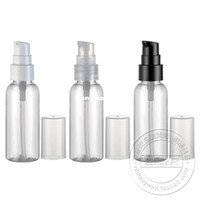 Wholesale ml transparent empty pack cosmetic plastic box lotion cream pump bottle pc