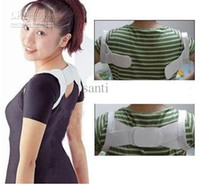 Back   Multicolor box package Back Posture Shoulder Support Band Belt Brace Corrector belt Cheast Belt