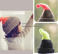 Wholesale Kids Knitted Caps Fashion Wool Cap Baby Crochet Hats Hand Knitted Caps Casual Hat Children s Autumn And Winter Caps Boy And Girl Warm Cap