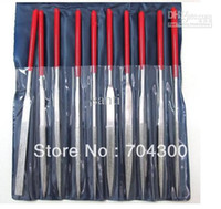 Carbide Taper Mini Files 10 Set Needle Files Jewelers Diamond Wood Carving Metal Glass Stone Craft Tool