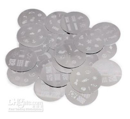 Wholesale 120 Designs Nail Art Stamping stamp Metal Plate Stainless Steel Image printing design Plate
