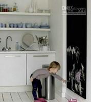 Wholesale Hot Removable Blackboard Sticker Vinyl Chalkboard Wall Sticker Free Liquid Chalk Pens