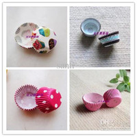 CE / EU baking mini cakes - Mini cm base Paper Cup Cake Liners Muffin Cases Cupcake Mold Baking Cups assorted design