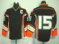 Wholesale Ryan Getzlaf Anaheim rd Black with C Patch American Premier Hockey Jersey Man Ice Hockey Jersey Stitched Authentic HighQuality FreeShip