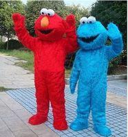 Unisex sesame street - Sesame Street Elmo and Cookie Monster Mascot Costume