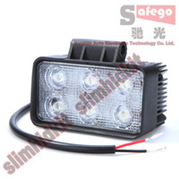 Wholesale 10pcs W work light fog Led Offroad light driving bar high power car Motorcycle train boat ATVs SUV s bumper fire engine farming mining