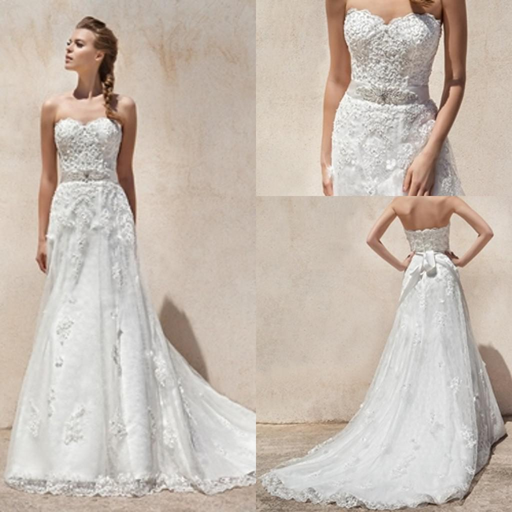 Xl 2014 New Spring Elegant Wedding Gown Custom Sheath