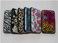 Wholesale All kinds of style printing aluminum credit card wallet leopard and flower printing and zebra