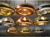 Wholesale LLFA4011 Tom Dixon void pendant lamp void light copper brass steel Void mini Pendant Lamp Ceiling Light suspension lighting Chandelier