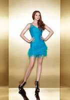 Wholesale 2014 Light Blue Bead Sheath Cascading Ruffle Sexy Cocktail Dresses Chic Popular Homecoming Dress Short Mini Party Prom Dress Gowns