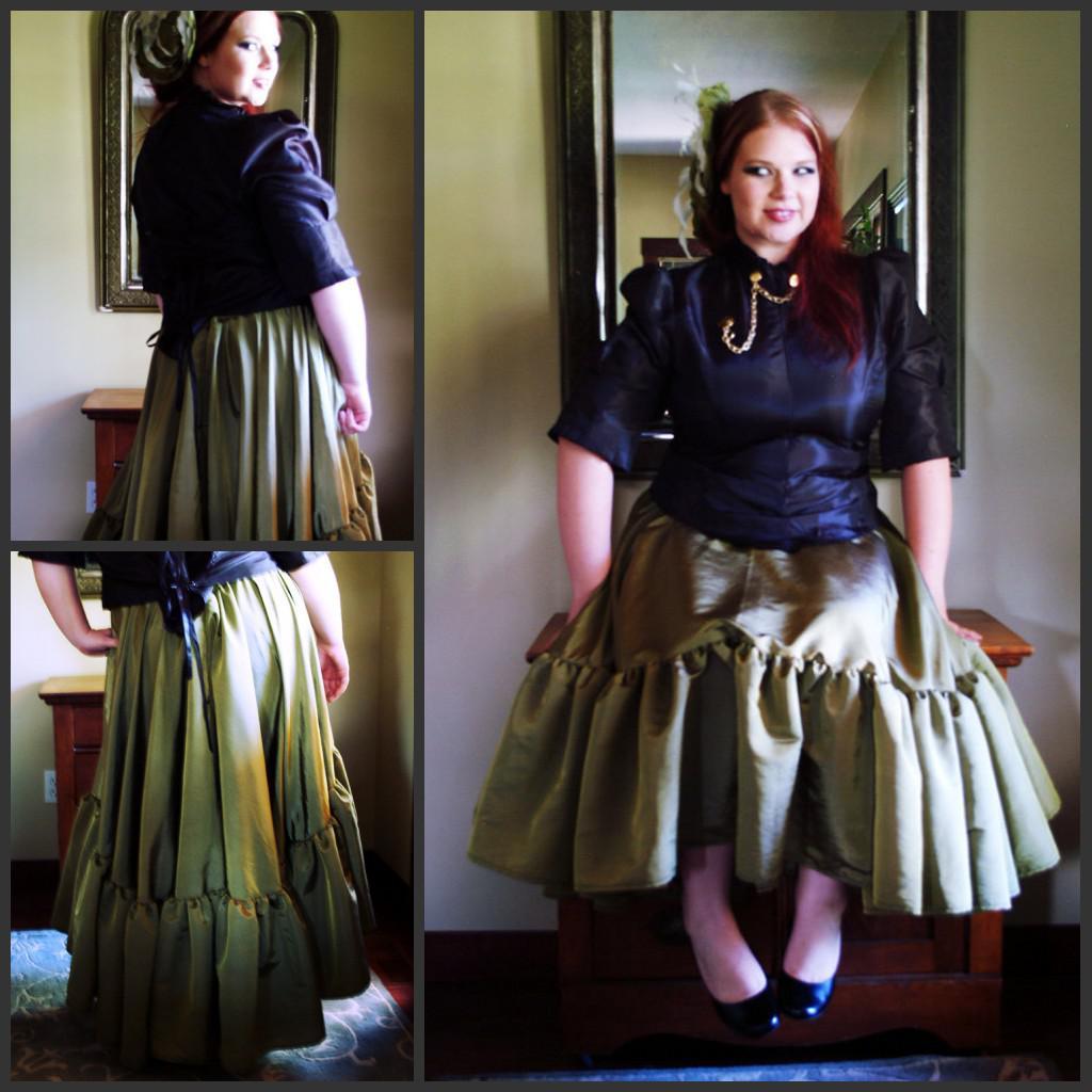 Victorian style dress plus size