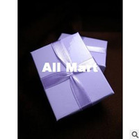 Jewelry Boxes Jewelry Packaging & Display Yes Wholesale High quality Jewelry packing and display Jewelry gift Box Romantic Purple color Ring Box gift box RJ1320
