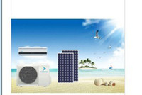Floor Standing Air Conditioners Solar CE 9000-24000BTU Split Wall Mounted Hybrid Solar Air Conditioner,48V DC powered solar air conditioner,wall mounted Solar Air Conditioner -Hybri