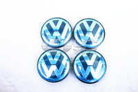 Wholesale VW Emblem Wheel Hub Center Caps mm For VW Golf