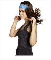 Wholesale woman Hair Accessories Stretchy Wide Headbands