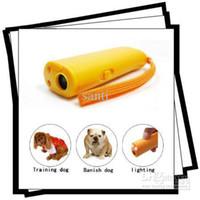 Agility Training Products dog repeller - Ultrasonic Dog Deterrent Bark Stopper Dog Repeller TRAINING REPELLER LED light