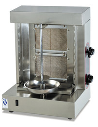 Wholesale KBM G four burners shawarma machine doner kebab machine Mini Gas Kebab machine with Two Gas Burners