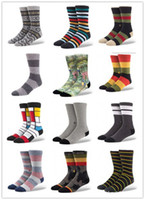 Wholesale Fashion Stance Monster Surf Midj Calf long Boys Socks Skate Socks for skateboarder hiphop dancer paiirs