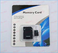 TransFlash Cards   DHL Free shipping Best Selling 64GB Class 10 Micro SD TF Memory Card with Adapter Retail Package Flash SD SDHC Cards DH0195i 10pcs