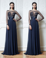 Wholesale - 2014 Zuhair Murad Long Sleeve Evening Dresses Zu...