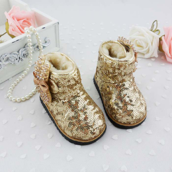 Gold Sequin Toddler Boots Wholesale Toddler Sequin Boots