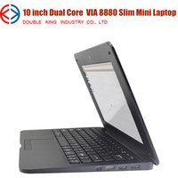 Wholesale New arrival laptop inch Dual Core Ultrathin Mini Laptop Android VIA Cortex A9 GHZ HDMI WIFI GB Mini Netbook