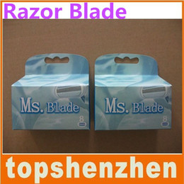 Wholesale 100 Best quality eutral package Blade For Woman Razor Blade Model Grade pack