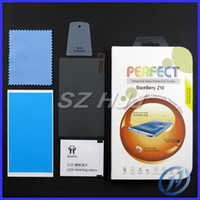 Wholesale Perfect Shatter proof Anti fingerprint Toughened Tempered Glass Screen Protector For Blackberry Z10 New Arrival