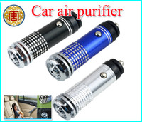Wholesale 12V Mini Auto Car Fresh Air Ionic Purifier Oxygen Bar Ozone Ionizer Cleaner